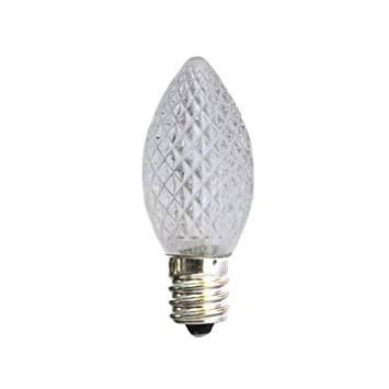 Cool White C7 LED Replacement Bulb   C7 LED Christmas Light Cool White   Led  Household Light Bulbs   Amazon.com