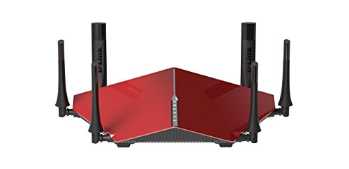 D-Link AC3200 Ultra Tri-Band Wi-Fi Router With 6 High Performance Beamforming Antennas (DIR-890L/R)