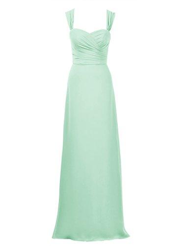 Mint Evening Wedding Alicepub for Bridesmaid Elegant Party Maxi Dress Dress Green Dresses qwvv0TX