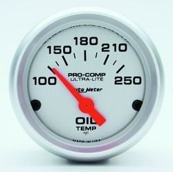 Auto Meter 4347 2-1//16IN ULTRA LIGHT OIL