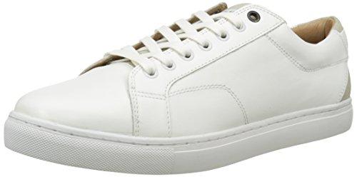 G Star Stanton Low Mono - Zapatillas Hombre Blanco - Weiß (bright white 1322)