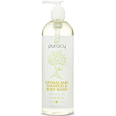 Puracy Natural Baby Body Wash & Shampoo