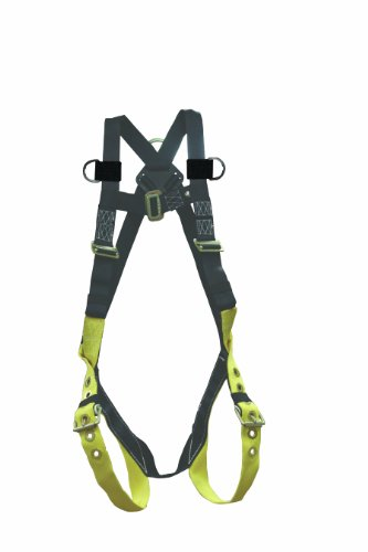 Elk River 42159 Universal Polyester/Nylon Full Body 1 Steel D-Ring Harness with Tongue Buckles and Fall Indicator, Fits Medium to 2X-Large by Elk River