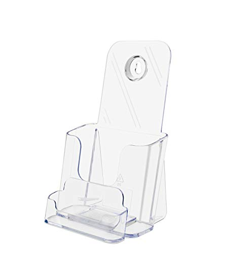 - DEF78601 - Deflect-o Countertop Leaflet Holder with Business Card Holder