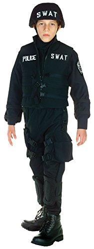 [Boys - Swat Kids Costume Md 6-8 Halloween Costume - Child 6-8] (Swat Costume For Kids)