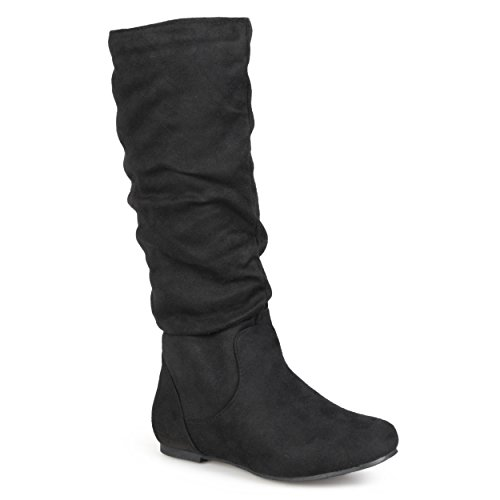 rinley-02 Slouch Boot, Black, 10 M US ()