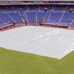 Baseball Field Tarps - Baseball Field Cover 170' x 170' 1200 lb - Baseball