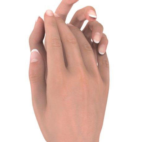 NOA Bagues Or Blanc 18 carats Saphir Rose 0,6 Emeuraude
