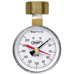 Orbit 91130 200 PSI Water Pressure Gauge by Orbit