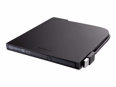 BUFFALO MediaStation Portable BDXL Blu-ray Writer - BDXL drive - USB 2.0