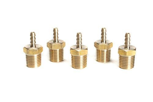 LTWFITTING Brass Fitting Coupler 1/8