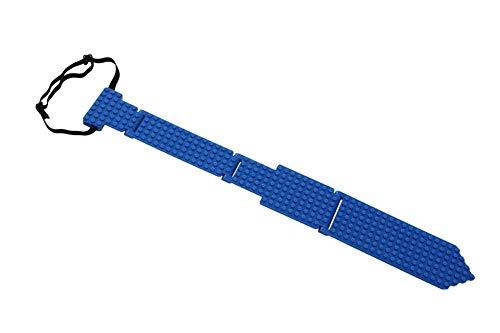 - elope Bricky Blocks Blue Neck Tie