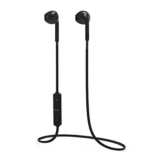 Bluetooth Headphones, Wireless Sports Earphones Noise Cancelling Headsets with Mic Waterproof HD Stereo Sweatproof In-Ear Earbuds for Apple iPhone 8/8plus/X/6/6 s/7/7 plus Samsung Android