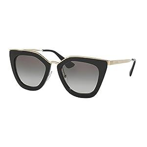 Prada Women's 0PR 53SS Black/Grey Gradient