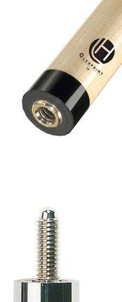 Lucasi Zero Flexpoint Shaft 5/16 x 18 Black Collar - Lucasi Flexpoint Shaft
