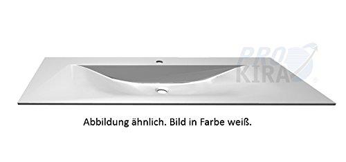 Puris Brillant Glaswaschtisch / WGS951283 / Quarzitgrau / 120,6x1,1x50cm