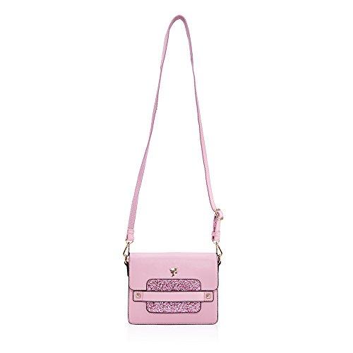 Barbie BBFB389 Bolso de Colección de Legencia de Forma Rectángula Tipo de Cierre de Hebilla Rosa