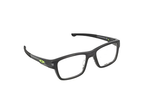 Oakley Splinter OX8077-0452 Black Ink Plastic Rectangle Eyeglasses 52mm (Glasses 137)