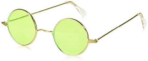 Forum Novelties 51068 Glasses-Hippie-Green Lenses (Halloween Costumes For Work Groups)