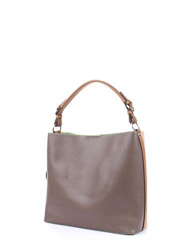 Borsa Spalla Tracolla Donna Rosa / Marrone Donna La Martina Hobo Bag Woman La Boca Pink / Taupè 317.005