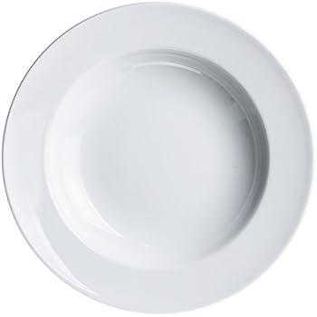 4-Piece PASTA/Salad/Soup/Serving PLATES 11.8 inc White Porcelain  sc 1 st  Amazon.com & Amazon.com | 4-Piece PASTA/Salad/Soup/Serving PLATES 11.8 inc White ...