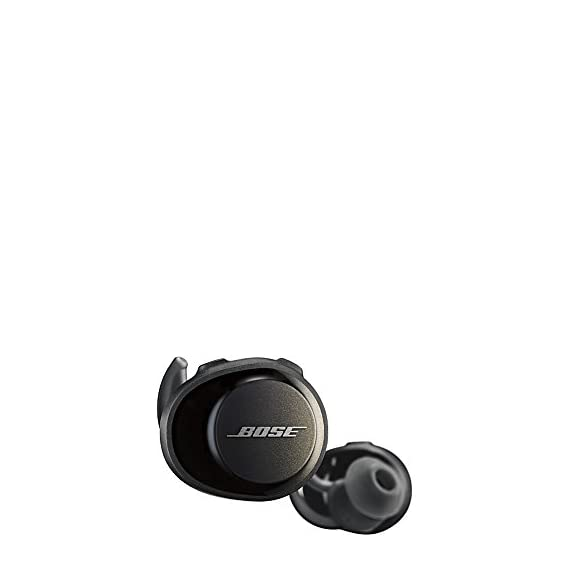 Bose SoundSport Free, True Wireless Earbuds, (Sweatproof Bluetooth Headphones for Workouts and Sports), Black 2 Completely wireless Strong, reliable Bluetooth connection Stable, comfortable and lightweight