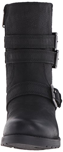 Rockport Mujer City Casuals Rola Buckle Boot Black Tumble