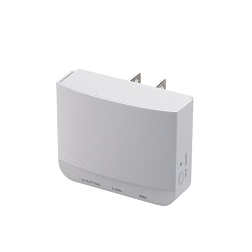 Elecom [Outlet Straight Interpolation] Wireless LAN Relay Machine (11ac 433mbps + 11n 300mbps · Relay Unit Alone) Wtc-733hwh by Elecom
