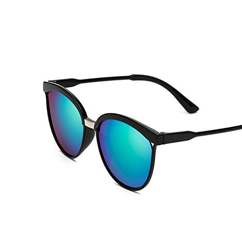 - Fashion Cat Eye Sunglasses Women Oversized Punk Vintage Sun Glasses For Ladies Retro Color Lens,Green Lens