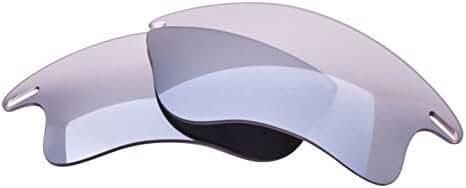 LenzFlip Oakley FAST JACKET XL Polarized Lens Replacement - Multiple Options