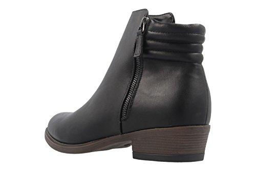 Fitters Footwear - Botas de Material Sintético para mujer negro negro
