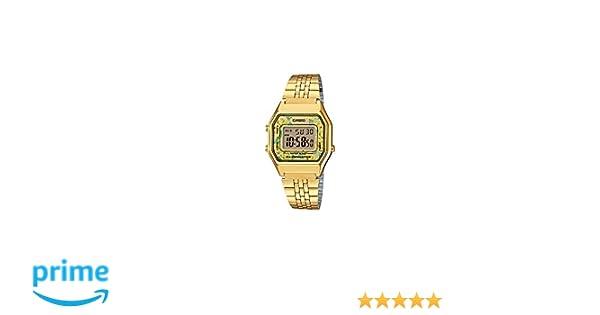 b606e83a4ad4 Reloj Casio - Retro LA680WGA-9CDF Dorado  Amazon.es  Relojes