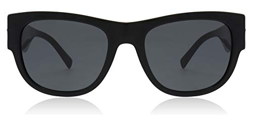 versace Man Sunglasses, Black Lenses Acetate Frame, 55mm by Versace