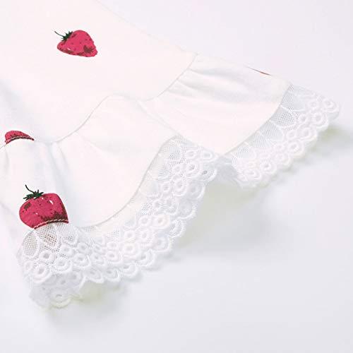 Colore a cotone HUXIUPING in Pink in donna M lunghe maniche Pantaloncini corte a da maniche cotone dimensioni Bianca Pigiama 65qpgw4f