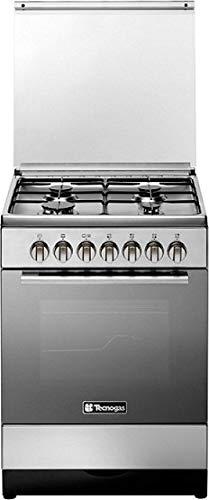 Tecnogas 60 X 60 Cm 4 Burners Gas Cooker, Steel – C3x66g4ve