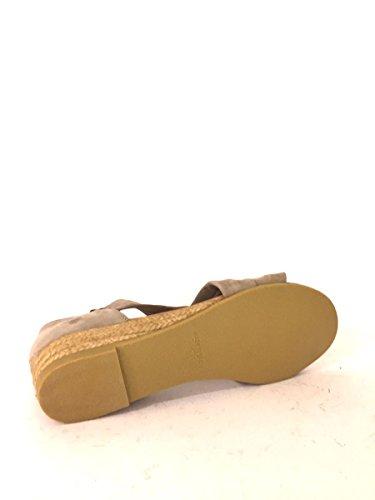 Sandalias Zeppa sh952de piel con tacón medio cuerda fascie mainapps TóRTOLA