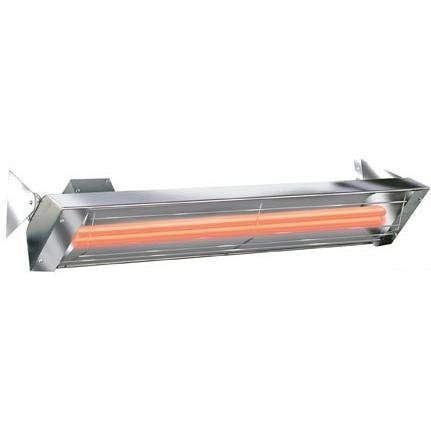 Infratech WD5024SS Dual Element 5,000 Watt Electric Patio Heater, Choose Finish: Stainless Steel