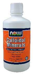 NOW Foods Colloidal Minerals Original, 32 ounce, Health Care Stuffs