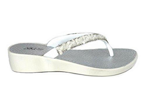 Sandales Femme 28 White SKO'S pour Fxz88O