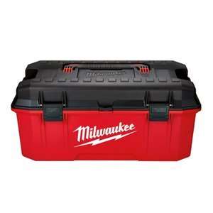 Milwaukee 26 in. Jobsite Portable Work Tool Box Power Tools