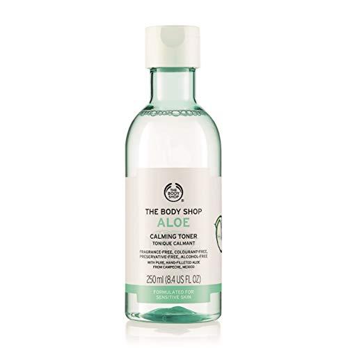 The Body Shop Aloe Calming Toner, Paraben-Free Facial Toner, 8.4 Fl. Oz.