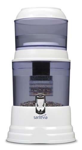 Santevia Water Filtration System - Counter Top Model, 1 Unit by Santevia