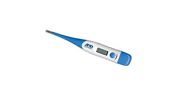 Digital Temperatura A/&D Medical UT113 oral axilas Termómetro Con Flexi-Punta
