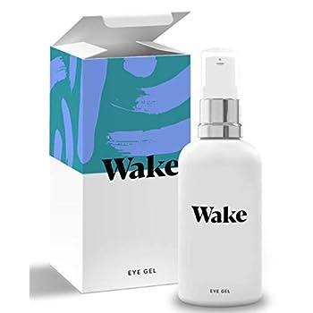 Wake Skincare Eye Gel – Hydrating Eye Serum for Puffy Eyes, Darkish Circles, Eye Luggage, Crows Toes and Wrinkles – Vitamin E – Collagen – 30ml Anti Ageing Eye Cream