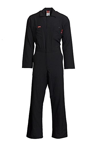 LAPCO NXCCE45NY-MED REG Nomex Comfort Flame-Resistant Economy Coverall, Navy, Medium Regular by LAPCO (Image #1)