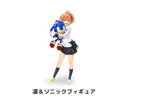 Love Live! X Sega Sega staff image girl Rin-chan inauguration anniversary !! campaign Rin & Sonic figures by Sega