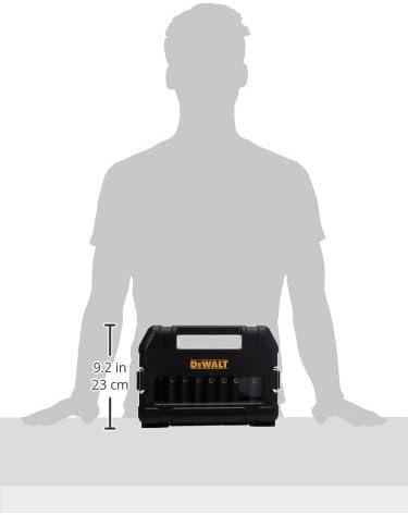DEWALT Impact Socket Set, SAE, 1/2-Inch, 10-Piece (DW22812)