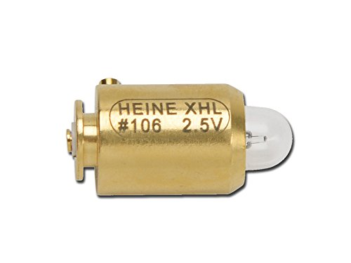 Heine XHL de lámpara halógena X de 001.88.106(2,5V) fà ¼ r Mini 3000ophthalmoskop