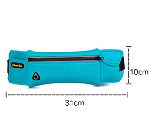 5 All Sling-Rucksack Sling Bag Chest Pack Taschen HANDY Tasche Outdoor Sports Camouflage Trekkingrucksack als Radfahr Jogging-Rucksack Kettle Paket Blau A2 NGRi8mJ947