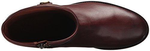 Frye Womens Melissa Knappen Kort To Boot Redwood